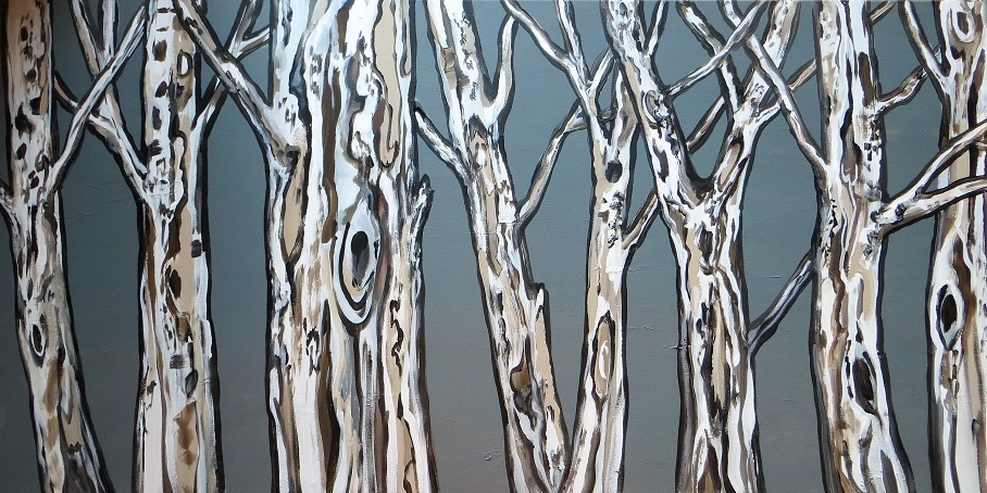 Dancing Forest (24 x 48)